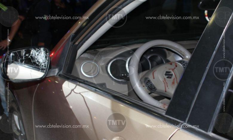 """Morelia: Sujeto le dispara a conductor que le pidió que respetara el """"uno a uno"""""""