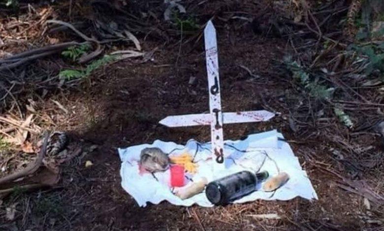 "México: Tras presunto ""ritual satánico"" hallan cuerpo de un bebé"