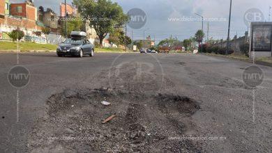 Photo of Los baches continúan alrededor de la capital michoacana