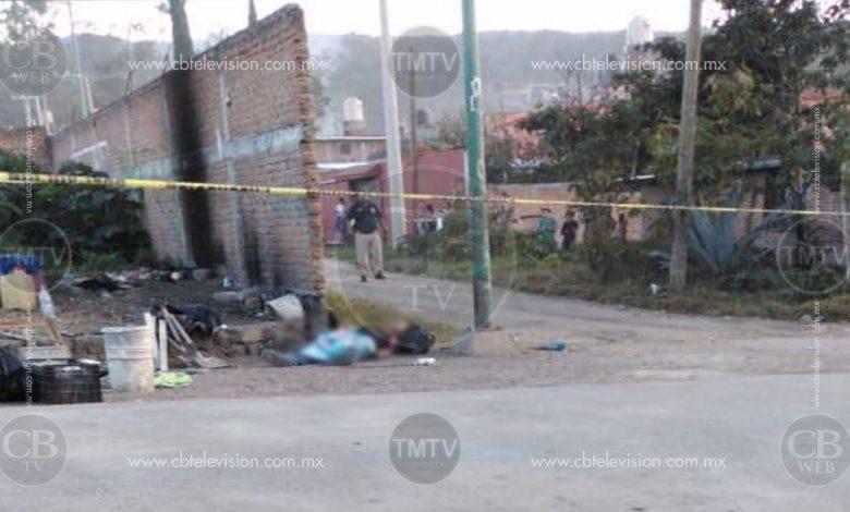 Balean a un joven en la Tenencia Morelos