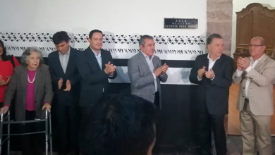 Photo of Se develó placa en honor al profesor Alfonso Vega Núñez