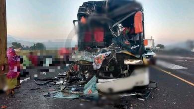 Photo of Dos muertos y 30 heridos deja choque de autobús; viajaban en peregrinación de Capácuaro a la CDMX