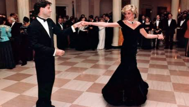 Photo of Subastan vestido de Lady Di con el que bailó con John Travolta