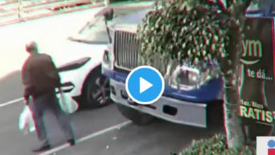 Photo of Fuertes imágenes: Hombre muere arrollado por revolvedora