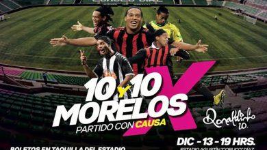 Photo of Nombrarán a Ronaldinho como ciudadano distinguido de Morelos
