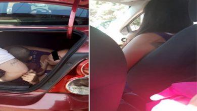 Photo of Chofer de Uber encuentra a su esposa y a su hijo escondidos en la cajuela; ella quería espiarlo