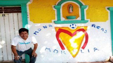 Photo of Viral: Fiebre rojiamarilla; hombre pinta su casa tras triunfo de la monarquía
