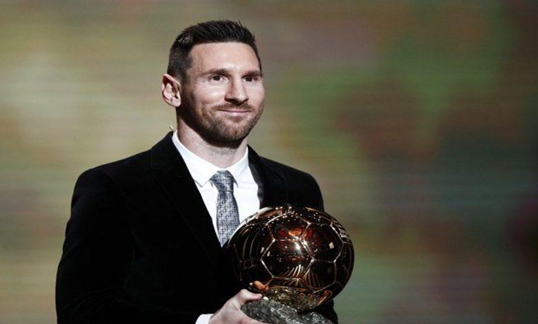 """""""Se va acercando la retirada"""", dice Messi tras ganar por sexta vez el Balón de Oro"""