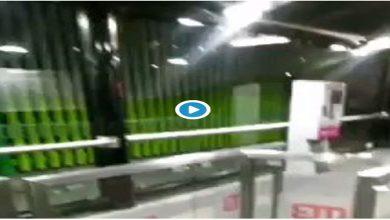 """Photo of Video: Captan a """"fantasma"""" usando el Metro"""