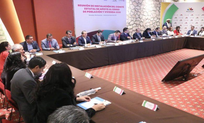 Plena coordinación con el INEGI para el Censo 2020 en Uruapan: Víctor Manríquez