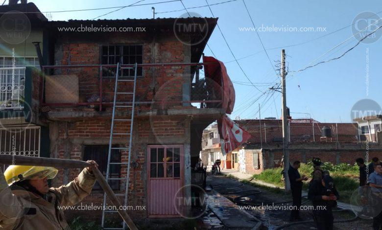 Fémina muere en incendio de vivienda