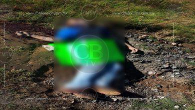 "Photo of Abandonan ejecutado con ""narcomensaje"" en Paracho"