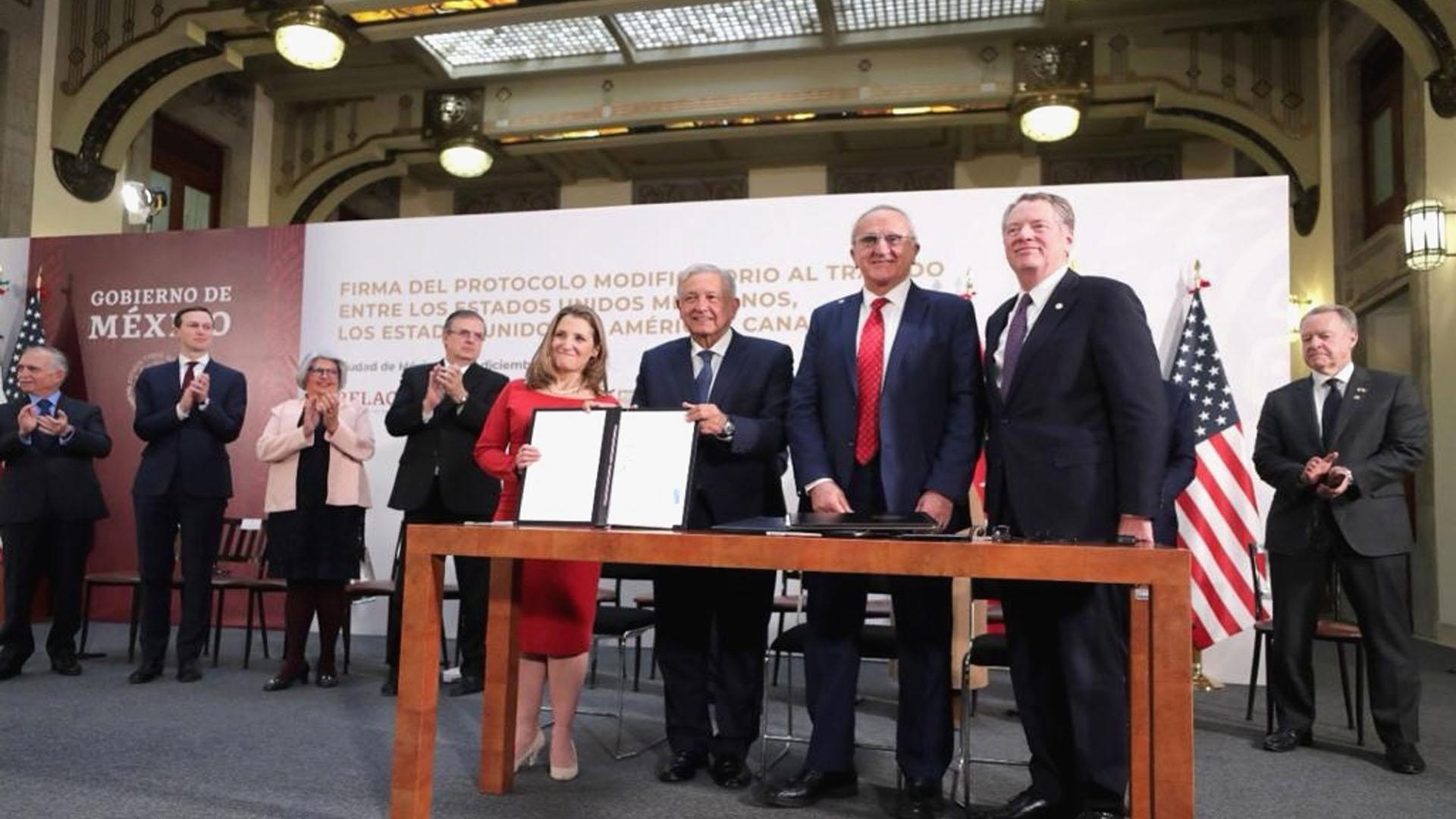 Con firma de T-MEC, AMLO devuelve a México su liderazgo y potencial comercial: Alfredo Ramírez