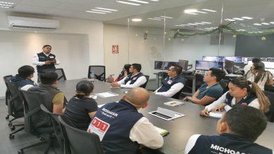 Photo of Realiza SSP capacitación a personal de subcentros C5i de Apatzingán y Uruapan