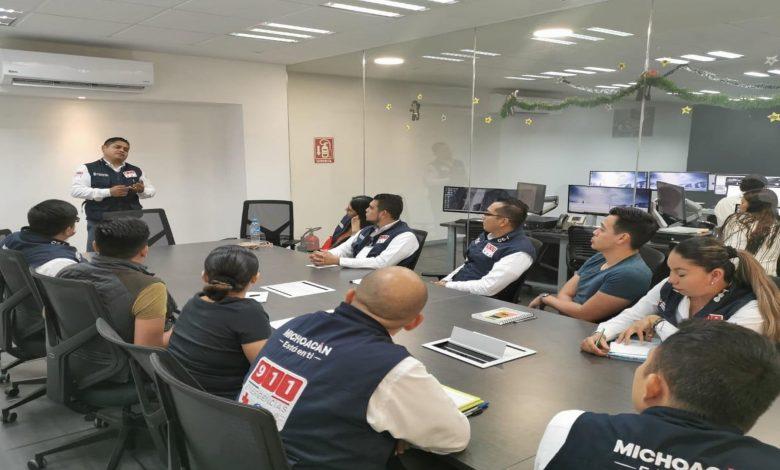 Realiza SSP capacitación a personal de subcentros C5i de Apatzingán y Uruapan