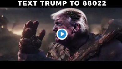 "Photo of Trump usa imagen de Thanos para video electoral; ""Yo soy inevitable"""