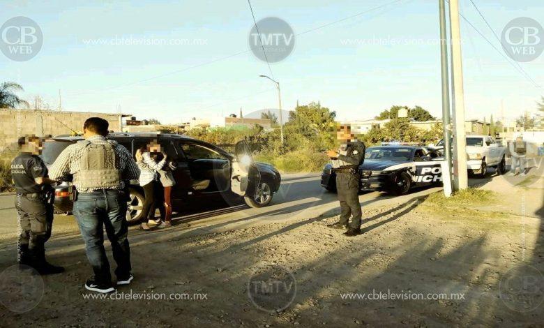 Reportaban menor extraviada y en minutos la localiza policía Michoacán