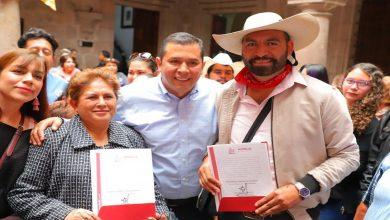 Photo of Realizan toma de protesta a Jefa de Tenencia Morelos y Jefe de Jesús del Monte