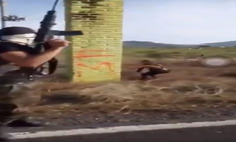 Video: Los Viagras se graban entrando a Michoacán para combatir con el CJNG