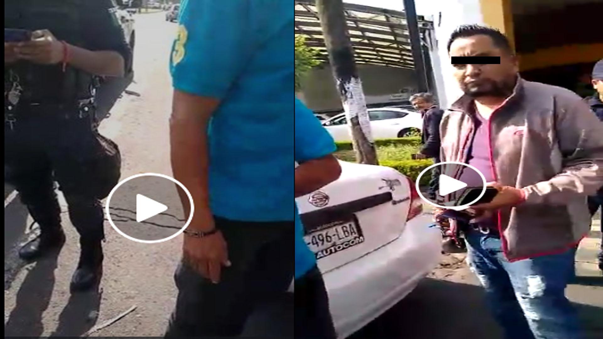 Video: Taxistas denuncian presunta presión de Cocotra para cazar Uber