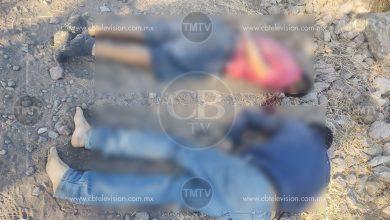 Photo of Matan a dos tiradores y los abandonan en Sixto Verduzco