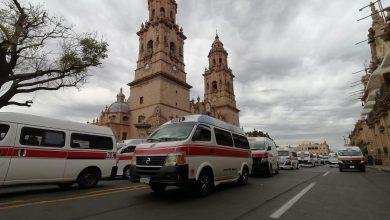 Photo of Transportistas toman el primer cuadro de la capital michoacana