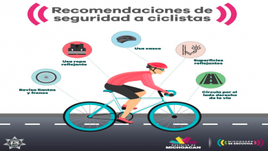 Photo of Exhorta SSP a ciclistas acatar medidas de seguridad