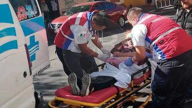 Photo of Motociclista arrolla a una fémina sobre Madero Oriente