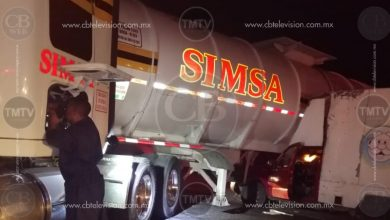 Photo of Camioneta impacta tráiler en la salida a Salamanca