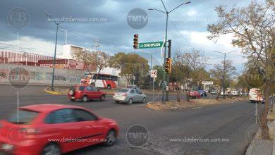 Photo of Semáforo descompuesto en Av. Madero Poniente de Morelia. ¡Tome precauciones!