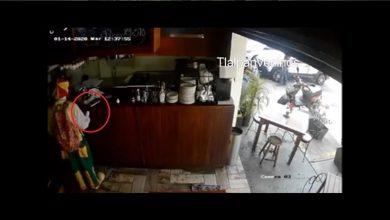 Photo of Video: Captan a payaso robando una Tablet dentro de un restaurante