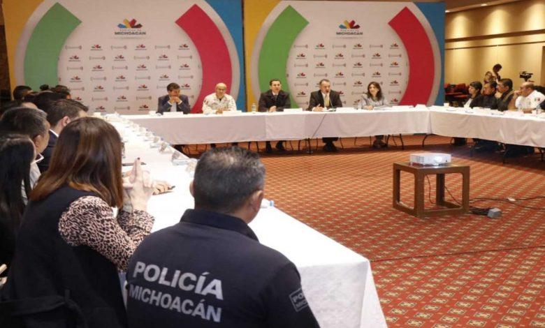 Refuerzan SSP y presidentes municipales de la Región oriente, estrategia de seguridad