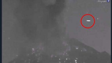 Photo of ¿Qué era lo que sobrevoló el Popocatépetl? En Twitter aseguran que es un OVNI