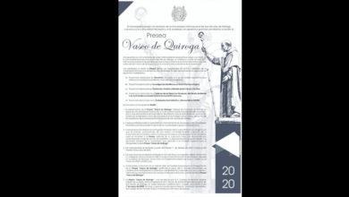 Photo of Convoca UMSNH a la sociedad nicolaita a postularse para recibir la presea Vasco de Quiroga
