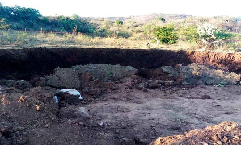 Confirman autoridades que la muerte de un menor de edad fue por el derrumbe de de un alud en la tenencia de Capula.
