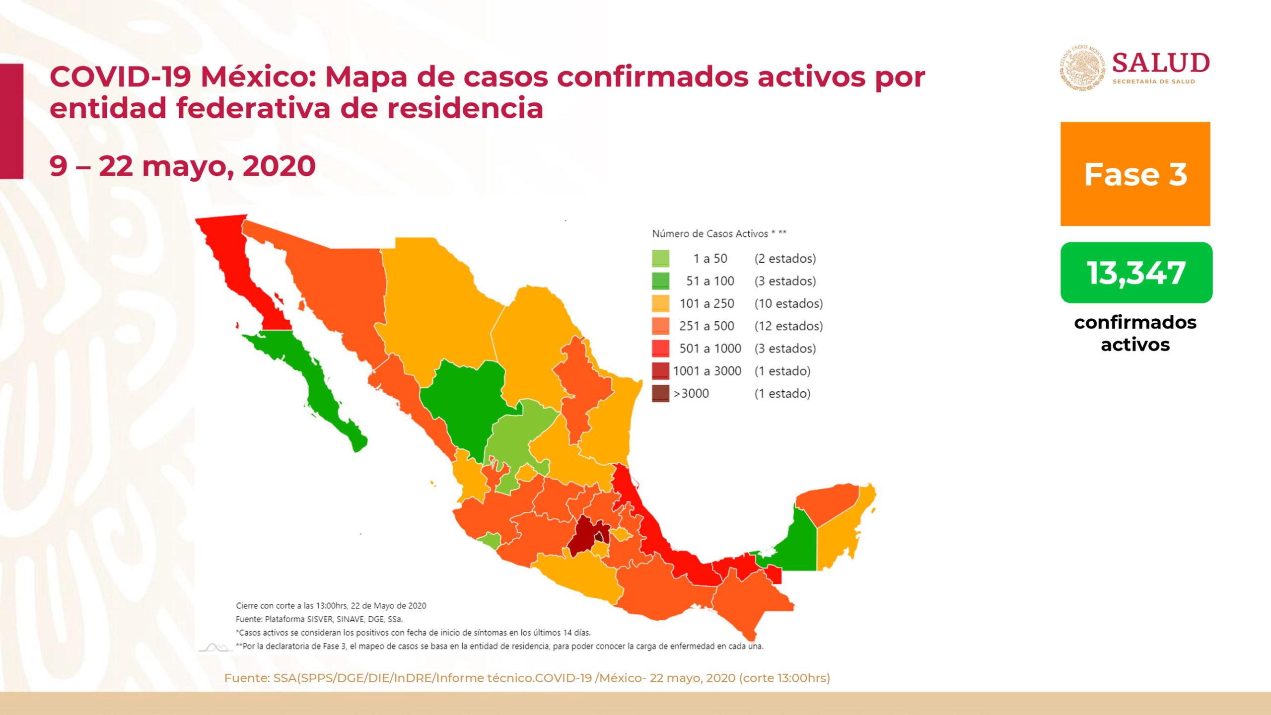 México registra nuevo record de muertes por covid-19 con 479 en un día