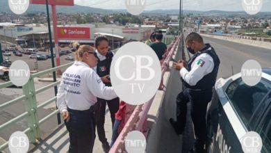 Photo of Un joven intentó lanzarse de un puente al libramiento de Morelia