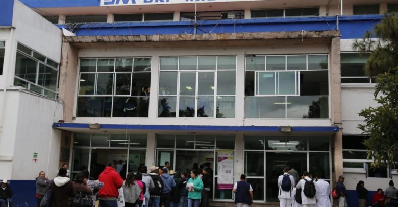 Hospitales de Morelia al borde del colapso