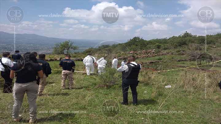 Hallan dos ejecutados en fosa clandestina al poniente de Morelia