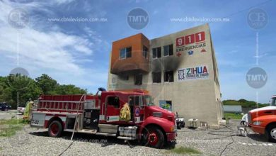 Photo of Se quema la base de bomberos de Zihuatanejo