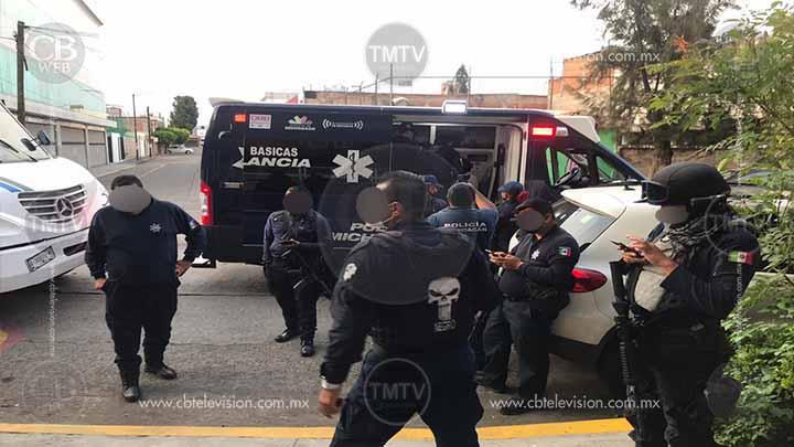 Pelea con cuchillo arriba de un camión justo a unos pasos del Mercado Independencia