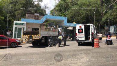 Photo of Motociclista se impacta contra camión del OOAPAS