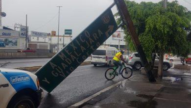 Photo of Tormenta deja afectaciones menores en Morelia