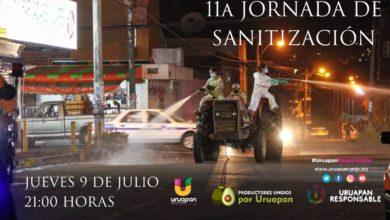 Photo of Décima Primera Jornada de Sanitización por un UruapanResponsable