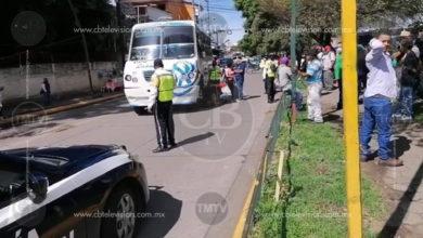 Photo of Microbús atropella a un abuelito en calles de Uruapan
