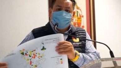 Photo of Presenta Víctor Manríquez mapa de riesgo de contagio COVID-19 en Uruapan