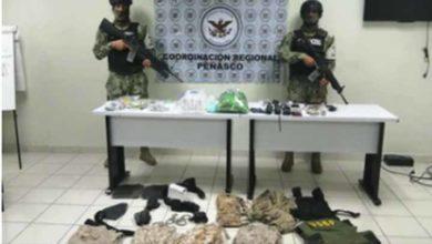 Photo of SEDENA y GN detienen a cuatro con posesión de droga en Sonora