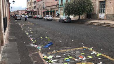 Photo of Vecinos preocupados por residuos médicos esparcidos que podrían estar infectados