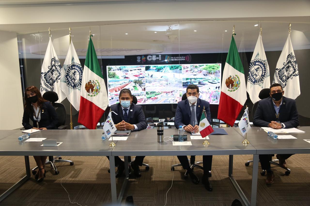 Logra Michoacán acreditación internacional del C5i: SSP