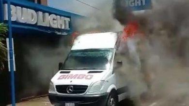 Photo of VIDEO: Queman camiones de Bimbo en Tamaulipas